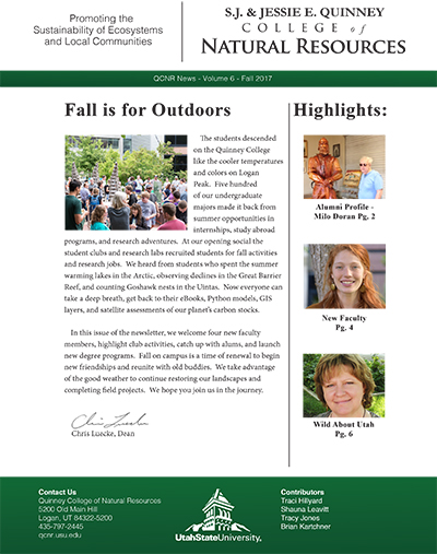 Fall 2017 newsletter image