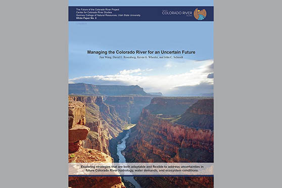 New White Paper: Strategies for Managing the Colorado River in an Uncertain Future