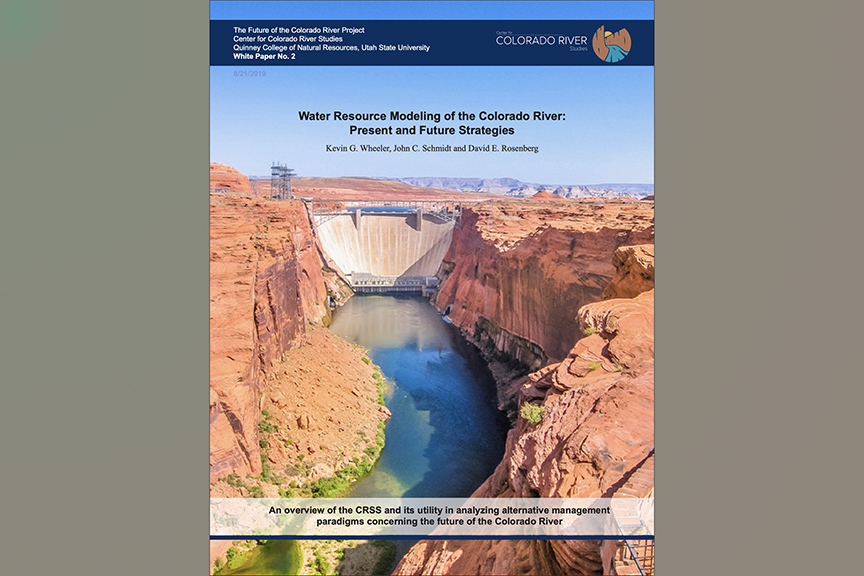 New White Paper: Water Resource Modeling of the Colorado River: Present and Future Strategies