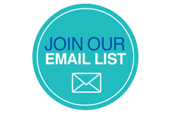 Subscribe to our Email list!