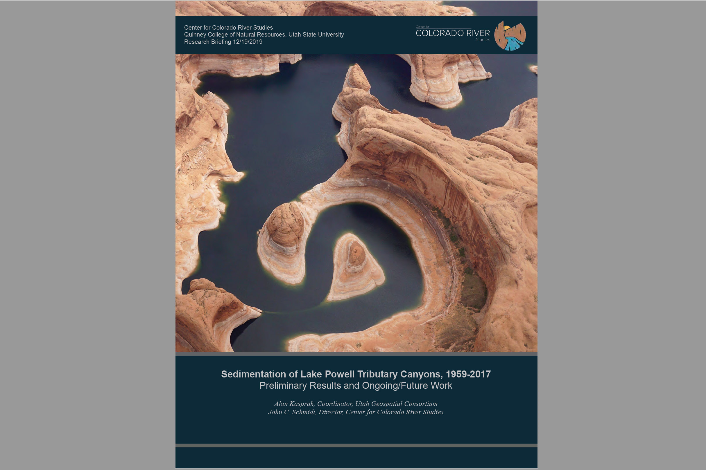 Research Brief: Sedimentation of Lake Powell Tributary Canyons, 1959-2017