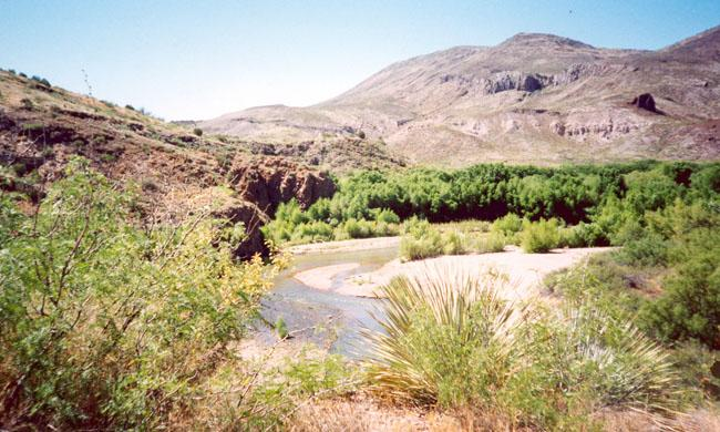 Gila River below Red Rock