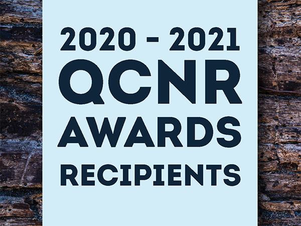 QCNR 2021 Awards Recipients