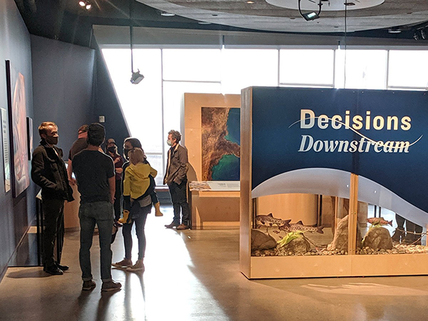 Exhibit at NHMU Offers Hands-On Access to Real Consequences of Watershed Decisions
