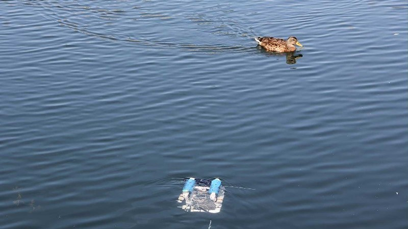 Robot Invasion: QCNR Helps High School Students Build and Test Submersible Robots