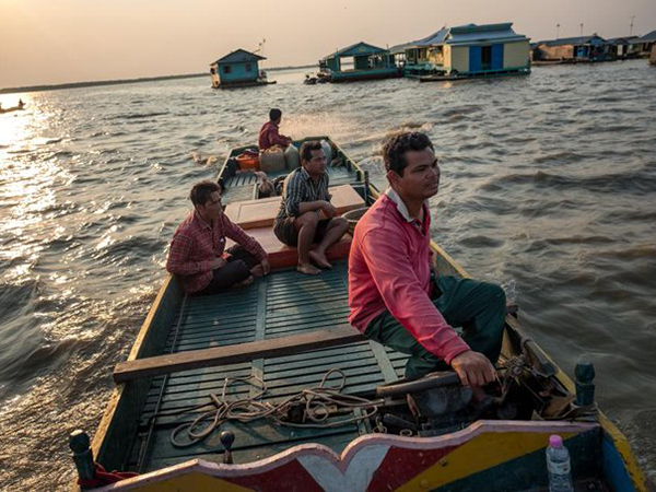 Cambodia's biggest lake is running dry, taking forests and fish with it
