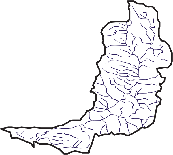 Logan River Watershed Graphic