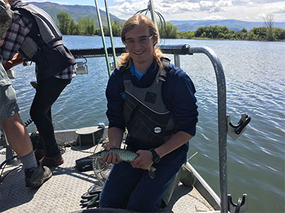 Utah Division of Wildlife Resources Northeastern Regional Sport Fish technician