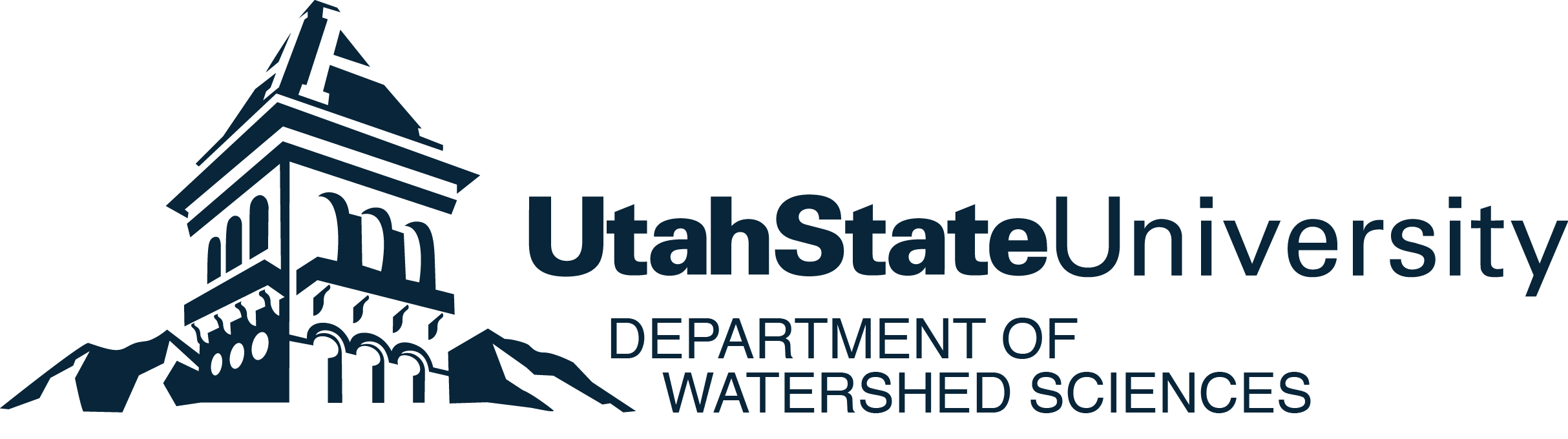 Department of Watershed Sciences Logo