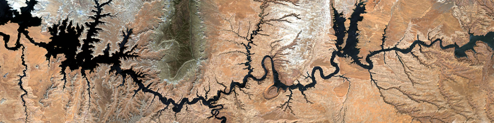 Satelite Photo of the Colorado River